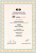 Базовый уровень обучения EMDR/ДПДГ